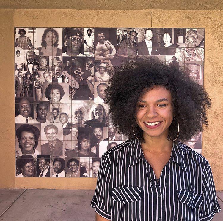Sadie Shaw creates neighborhood oral history project