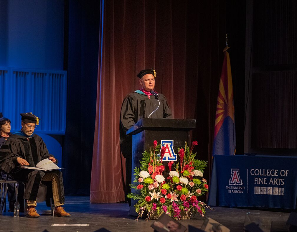 Arizona Athletics leader gives arts keynote address