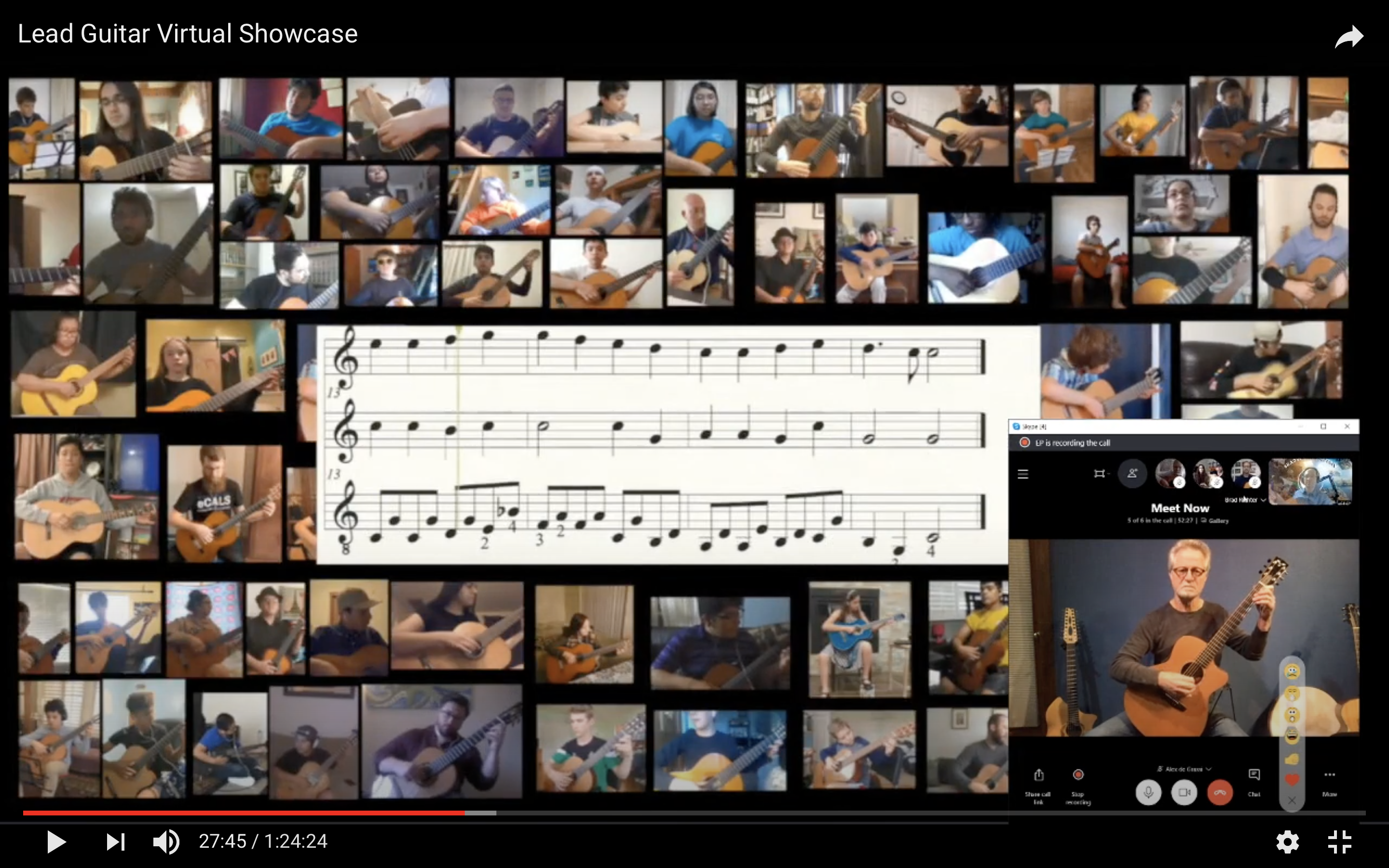 Students play exclusive rendition of 'Counting Stars'