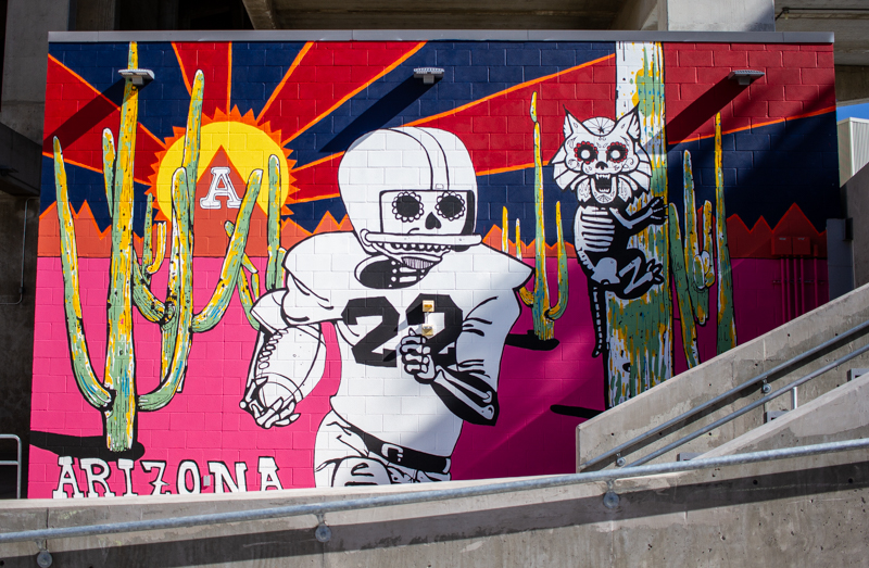 Murals, public art will become a 'defining feature' of University identity