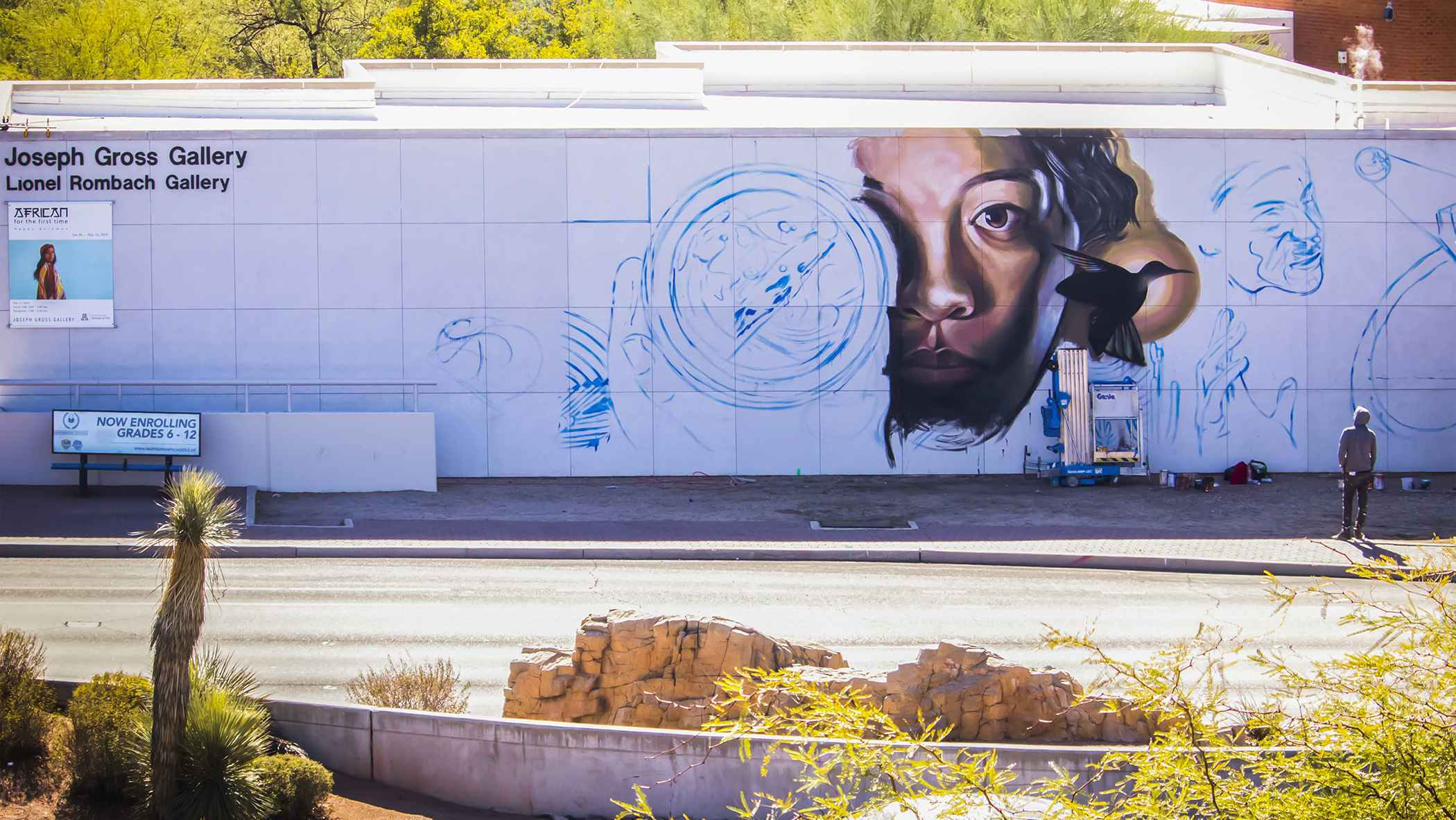 Karlito creates new mural on Speedway