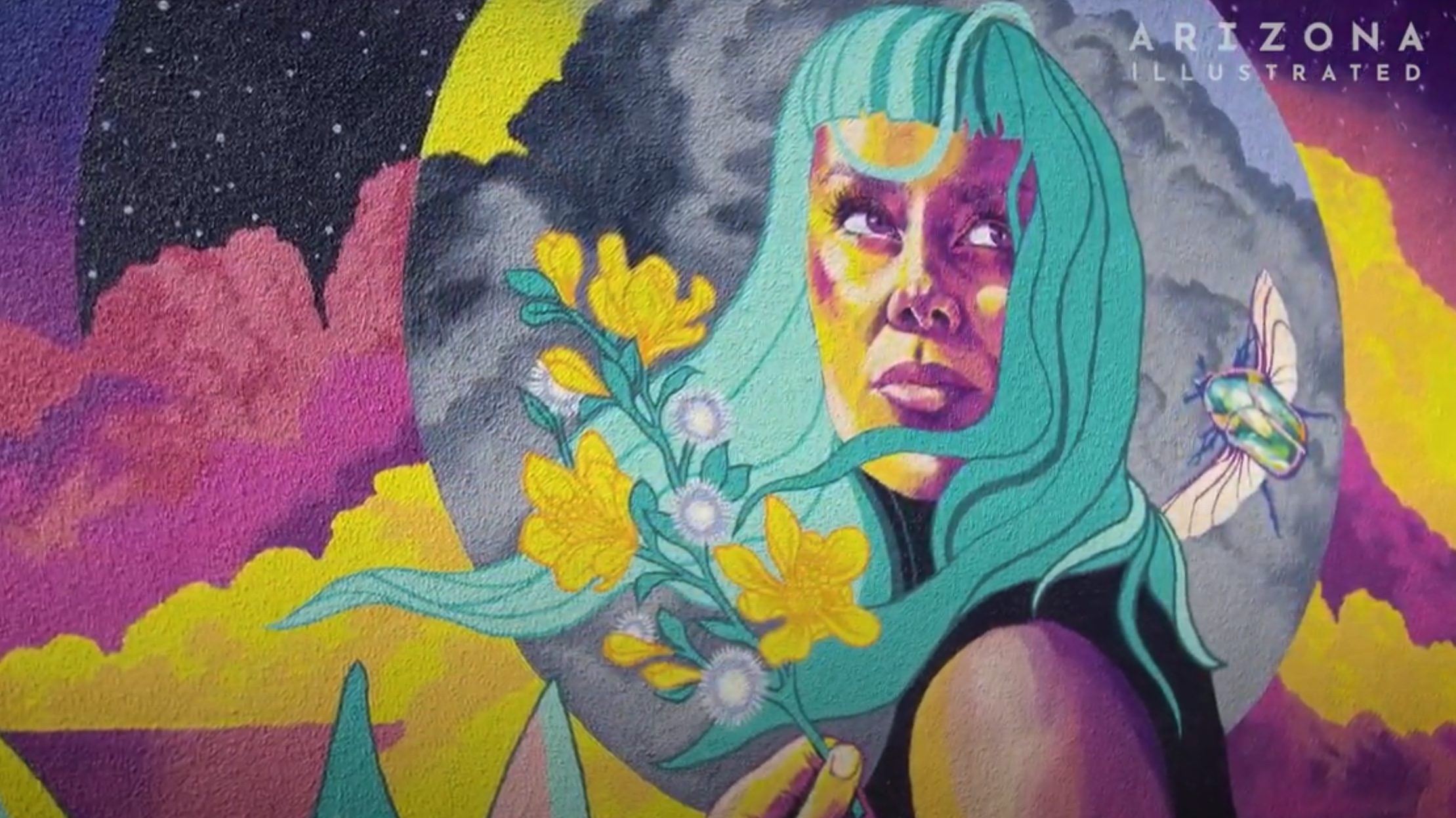 AZPM features School of Art's Jessica Gonzales evolution as 'The Muralist'