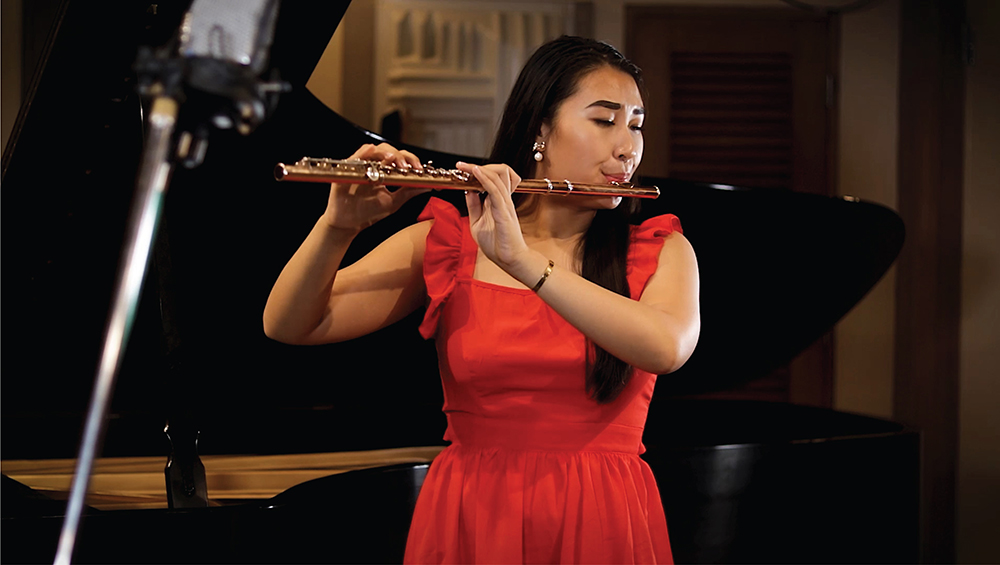 Q&A with music's Kaissy Yau, Spring 2021 Outstanding Senior