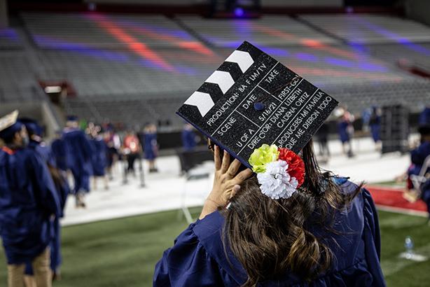 PHOTOS: College of Fine Arts 2021 Spring Graduation