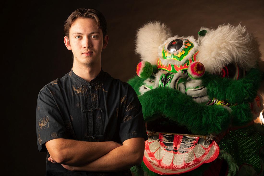 Nolan Veneklasen to document the Tucson Chinese Lion Dance Troupe