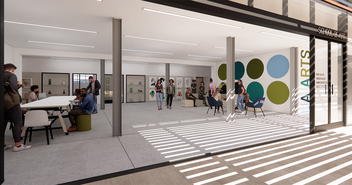 School of Art renovations underway, thanks to $6M gift