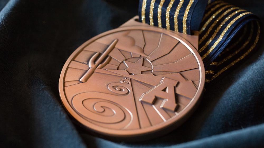 medallion by Dwayne Manuel
